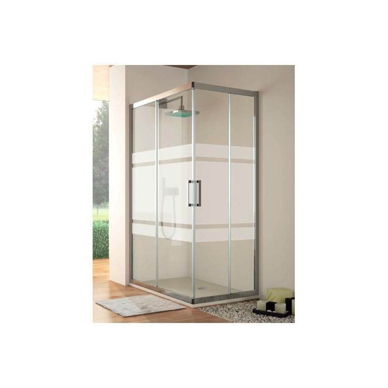 Mampara de ducha angular kassandra serie 300 tr105 - Mamparas acrilicas para ducha ...