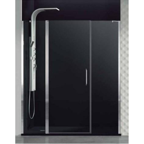 Mampara de ducha Open fijo puerta abatible y fijo