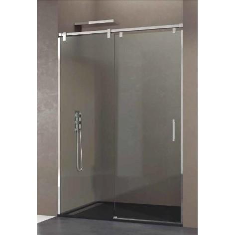 Mampara de ducha Futura 01 fijo y 01 puerta corredera Transparente
