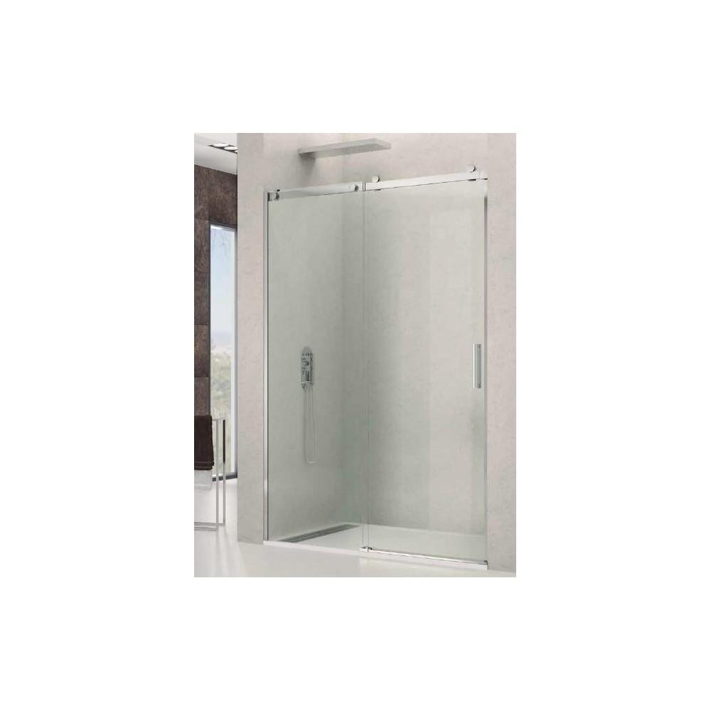 Mampara de ducha Rotary 1 fijo y 1 hoja corredera Transparente