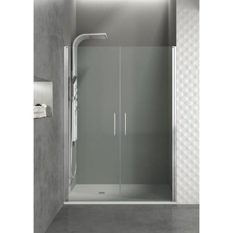 Mampara de ducha Open 02 Puertas Abatibles Transparente