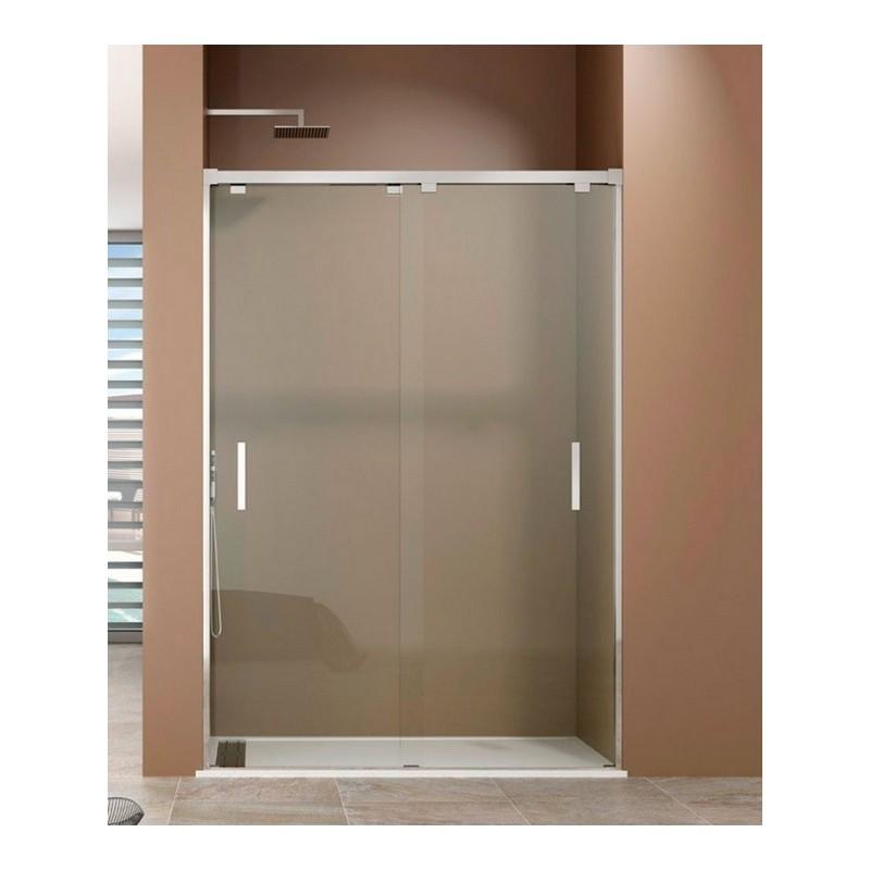 Mampara de ducha bypass 02 hojas correderas - Mamparas correderas de ducha ...