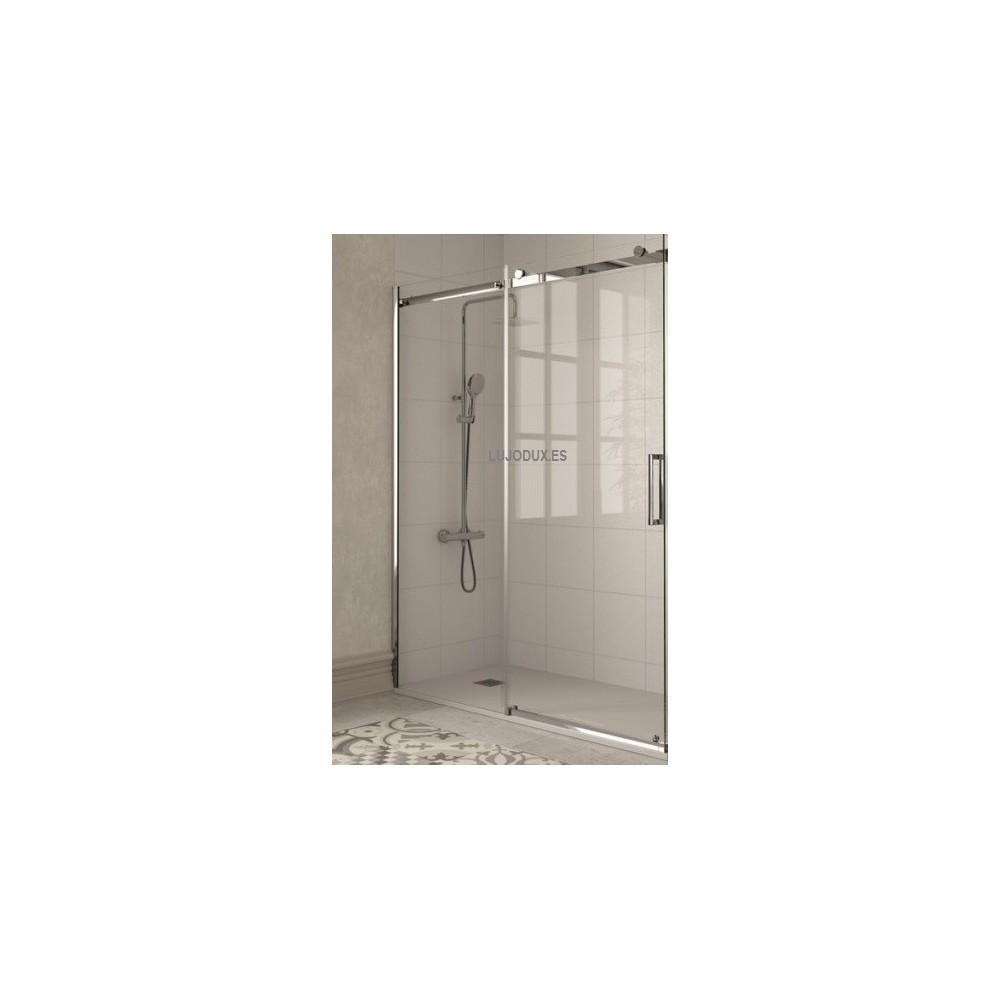 Mampara de ducha Liberty  LI102 1 fijo y 1 puerta corredera transparente