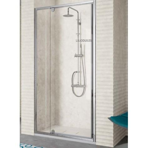 Mampara de ducha Kassandra TR 503 01 fijo y 01 puerta abatible pivotante