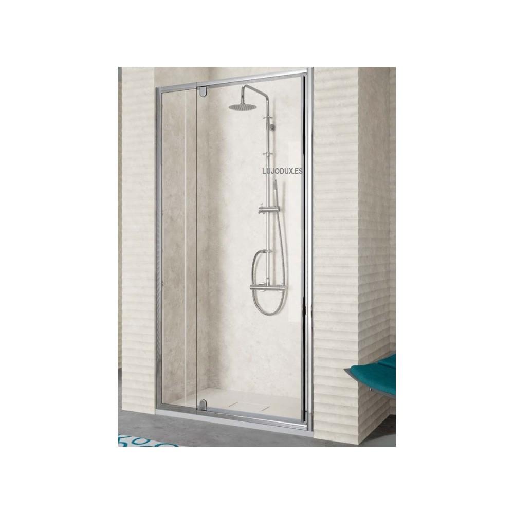 Mampara de ducha Kassandra TR 503 1 fijo y 1 puerta abatible pivotante Transparente