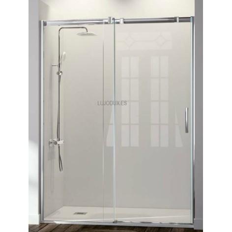 Mampara de ducha Kassandra Triana TN102  1 fijo y 1 puerta corredera