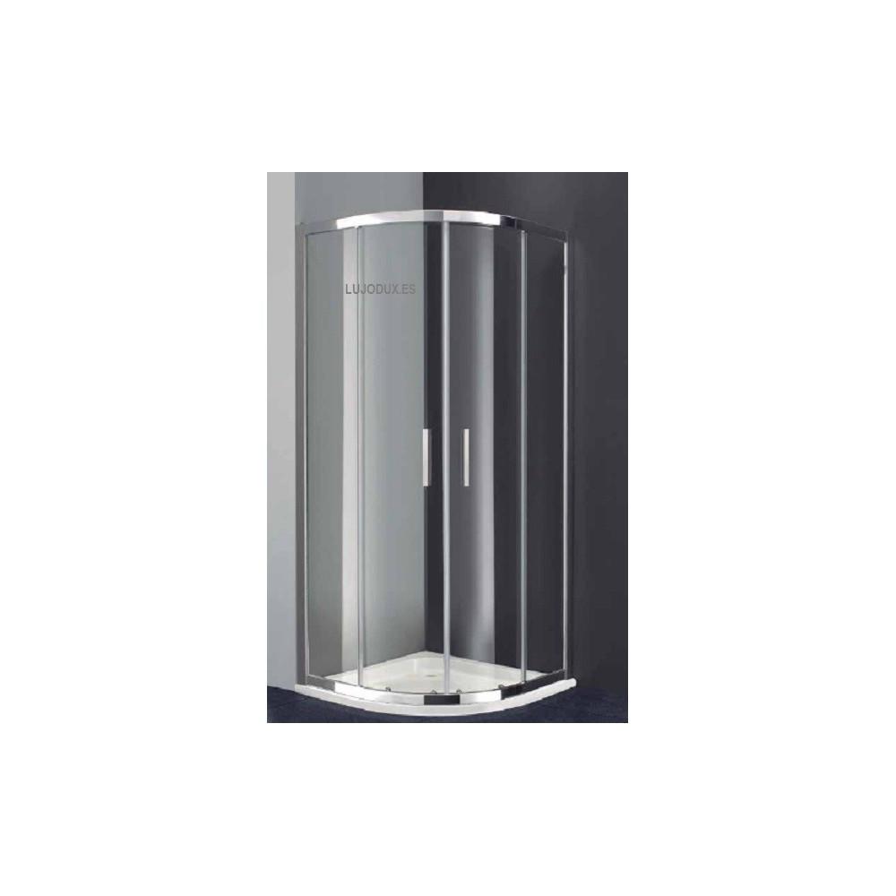 Mampara de ducha Semicircular Prestige Titan Transparente