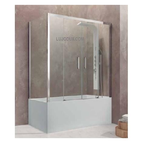 Mampara de Bañera Aktual Spazio con lateral fijo Transparente