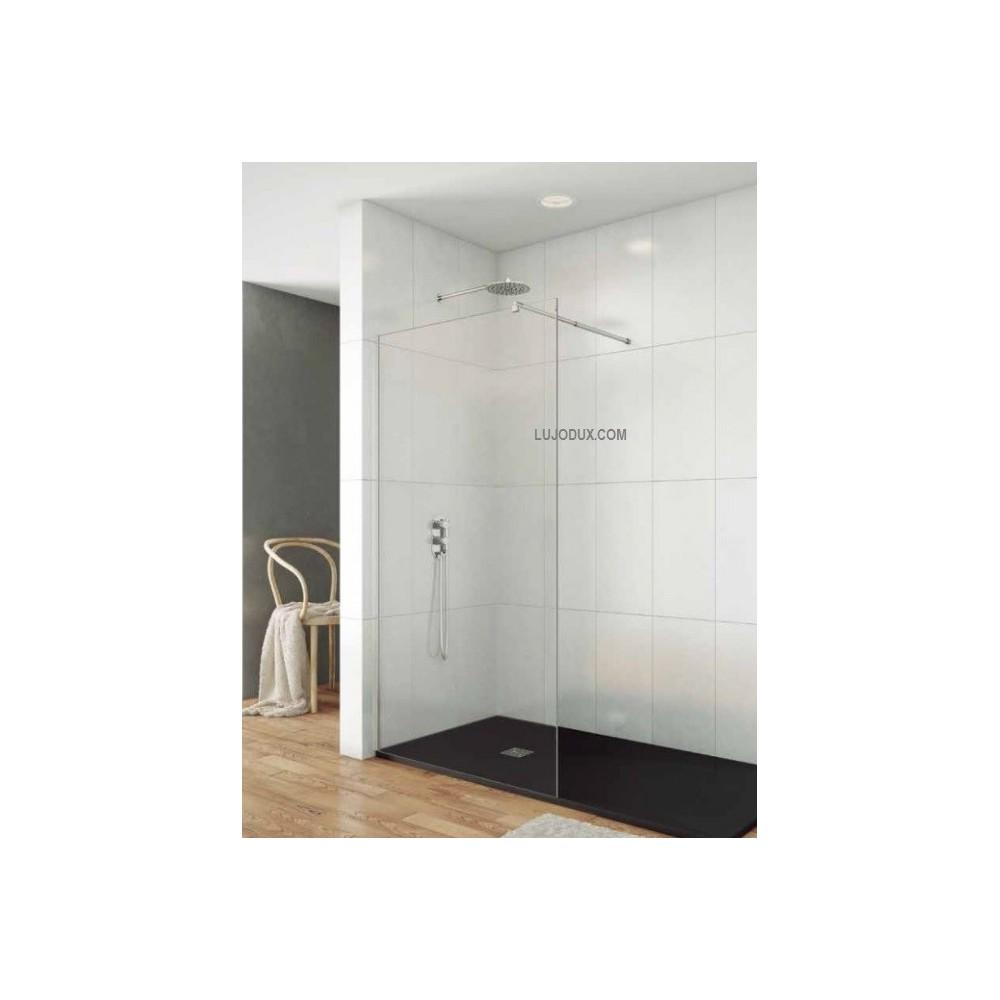 Panel fijo de ducha Screen transparente brazo soporte incluido