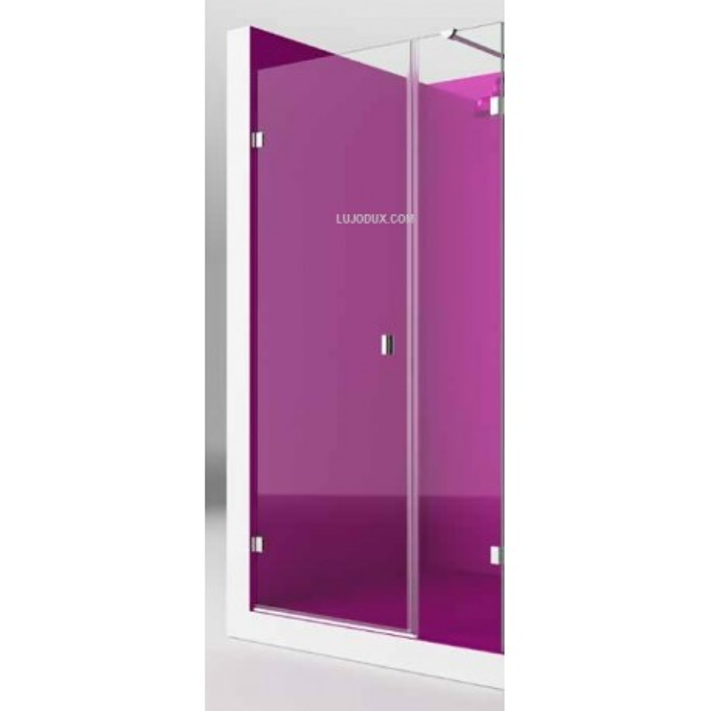 Mampara de ducha Zen Rei 1 fijo y 1 puerta practicable Transparente