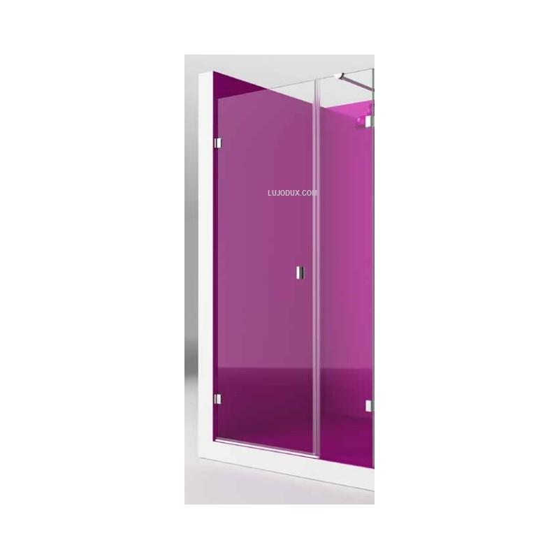 Mampara de ducha lasser 1 fijo y 1 puerta practicable - Mamparas lasser precios ...