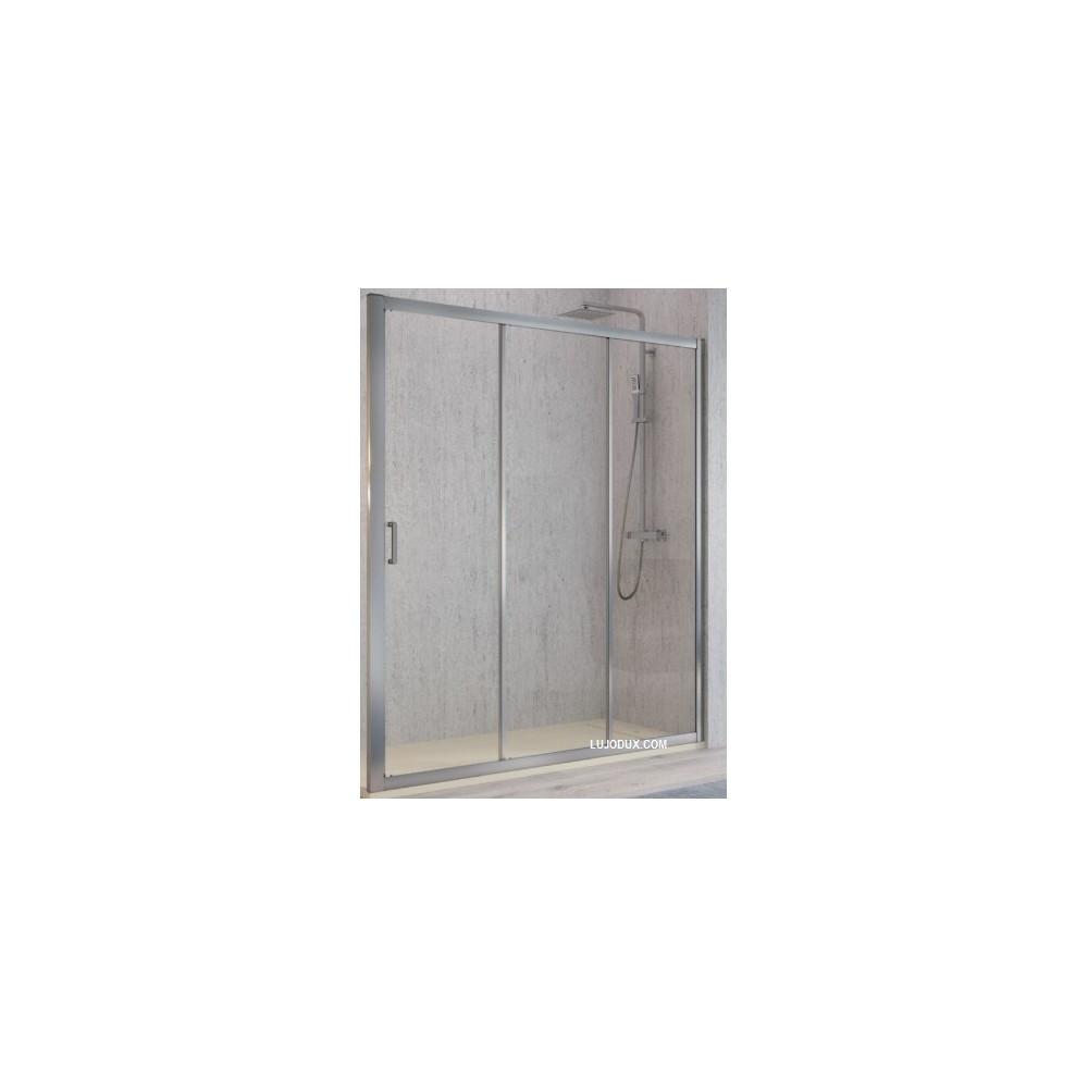 Mampara  de ducha kassandra Diana 03 hojas Transparente