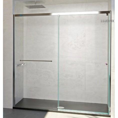 Mampara de ducha Plus Evolution 1 Fijo y 1 Puerta corredera