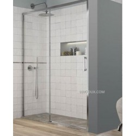 Mampara de ducha Yoko 1 Fijo y 1 Puerta corredera