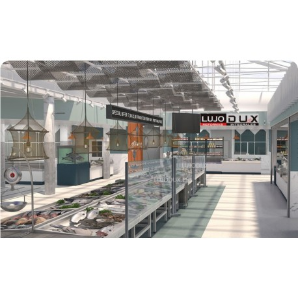 Mampara de Protección en vidrio Security X