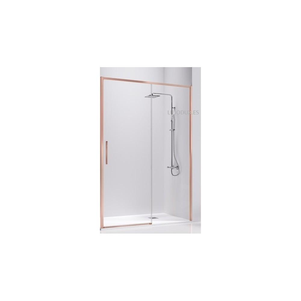 Mampara de ducha Masela Oro Rosa Transparente