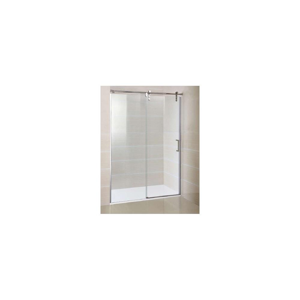 mampara de ducha Moving 1 fijo y 1 puerta corredera Transparente