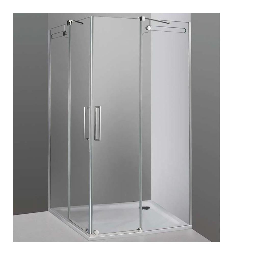 Mampara de ducha Vetrum apertura al vértice