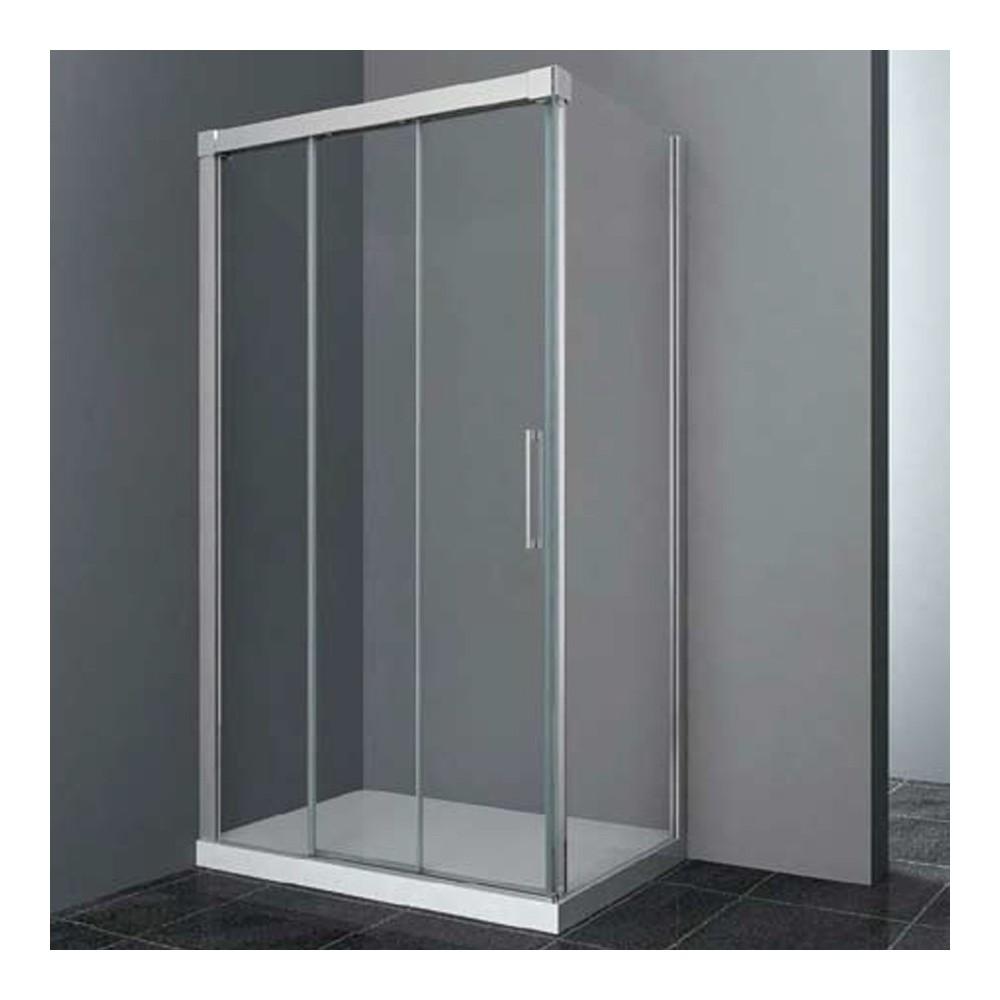 Mampara de ducha Trio con lateral fijo