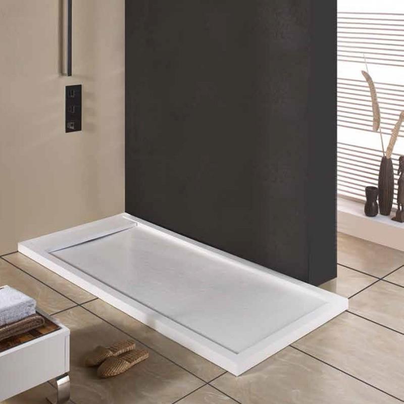 Plato de ducha serie lenon rectangular for Platos de ducha ceramicos rectangulares