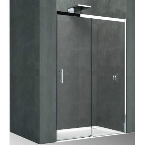 Mampara de ducha Novellini UPPH 1 hoja fija y 1 puerta corredera