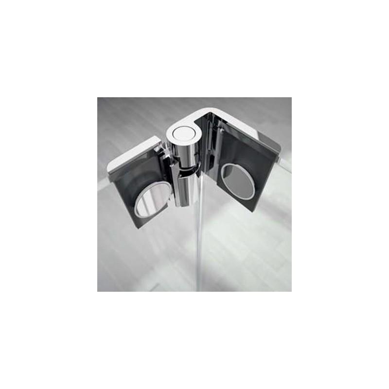 Mampara de ducha fija fresh fr423 con puerta abatible - Precios de mamparas para ducha ...