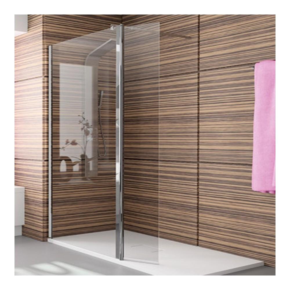 Mampara de ducha Kassandra 1 fijo y puerta abatible TR 524  Transparente