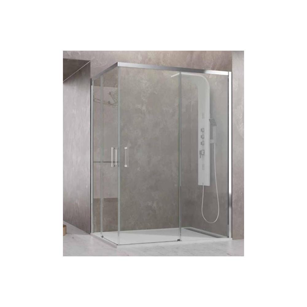 Mampara de ducha Aktual entrada  al vértice