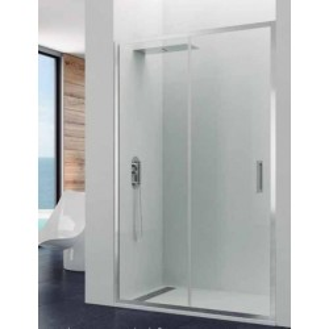Mampara de ducha Prestige Titan 1 fijo y 1 puerta corredera