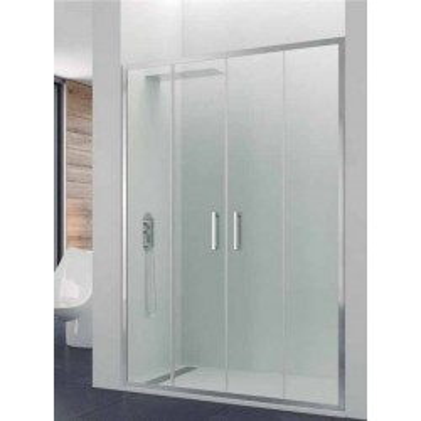 Mampara de ducha Prestige Titan Spazio 02 fijos y 02 puertas correderas