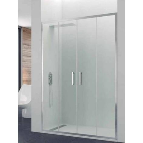 Mampara de ducha Prestige Titan Spazio 2 fijos y 2 puertas correderas